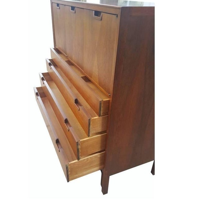 1960s Mid-Century Modern Highboy by John Stuart For Sale - Image 5 of 10