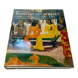 Kunstmuseum Basel Art Coffee Table Book For Sale