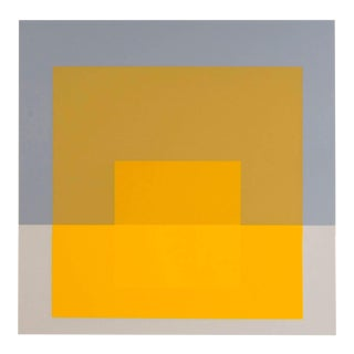 Josef Albers Homage to the Square Screen Print No. 5 For Sale