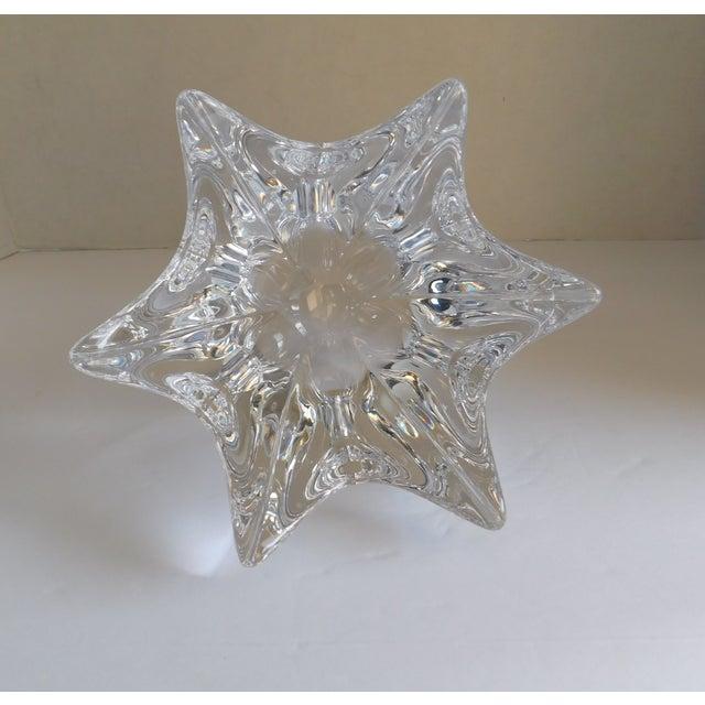 Vintage Orrefors Crystal Bowl For Sale - Image 9 of 12