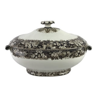 19th-C. Wedgwood Creamware Tureen For Sale