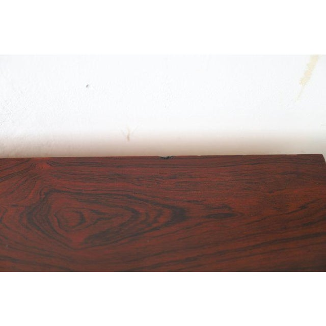 Pair of Mid Century Modern Nightstands By Dillingham (marked on inside) Beautiful construction with rosewood veneer...