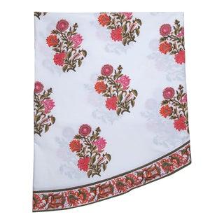 Sanya Round Tablecloth - Pink & Orange For Sale