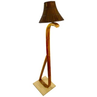 Bamboo Floor Lamp For Sale