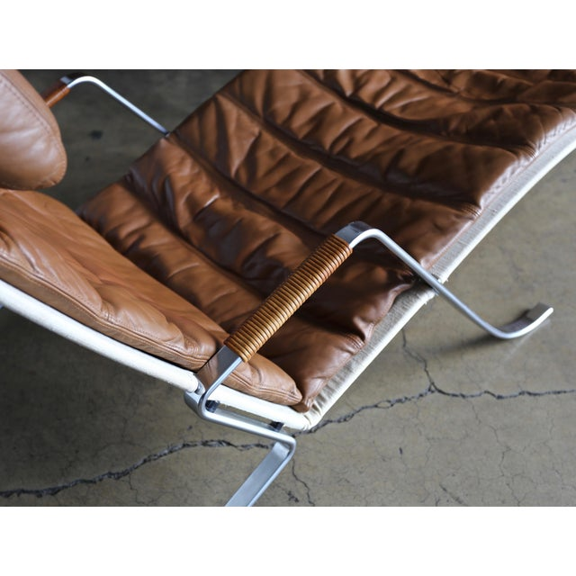 1960s Preben Fabricius and Jørgen Kastholm Grasshopper Chaise for Alfred Kill For Sale - Image 5 of 13
