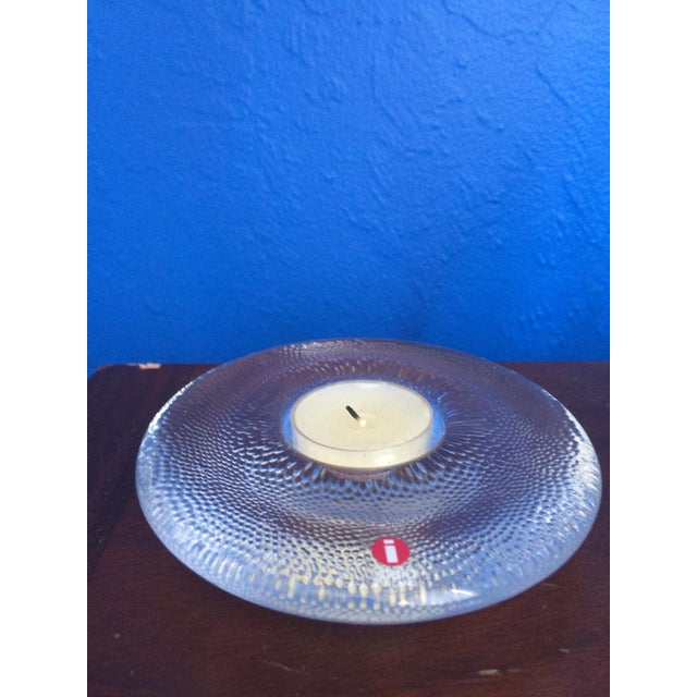 Iittala Glass Candle Holder - Image 2 of 4