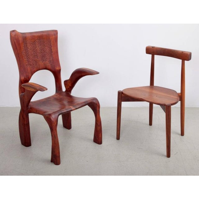 One of a Kind Studio Charles B. Cobb Armchair, US, 1977 For Sale - Image 9 of 11