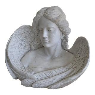 1970s Figurative Angel Women Bust For Sale