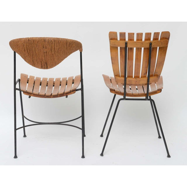Set of Four Arthur Umanoff Dining Chairs for Raymor For Sale In Miami - Image 6 of 10