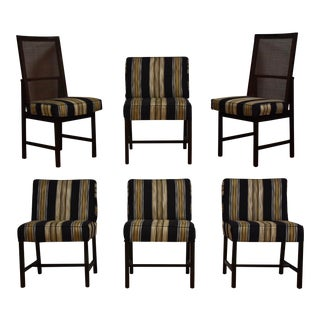Ebonized Dining Chairs - Set of 6