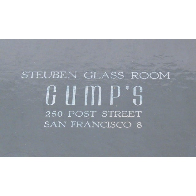 Steuben Champagne Glasses for Gumps - Set of 12 For Sale In Austin - Image 6 of 8