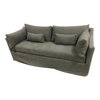 All Organic Grey Pull Out Sofa Couch