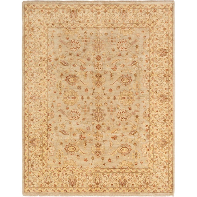 """Classic Hand-Knotted Rug, 8'0"""" X 10'4"""" For Sale - Image 6 of 6"""