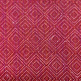 Image of Transitional Studio Four Ingrid Handwoven in Raspberry Designer Fabric by the Yard For Sale