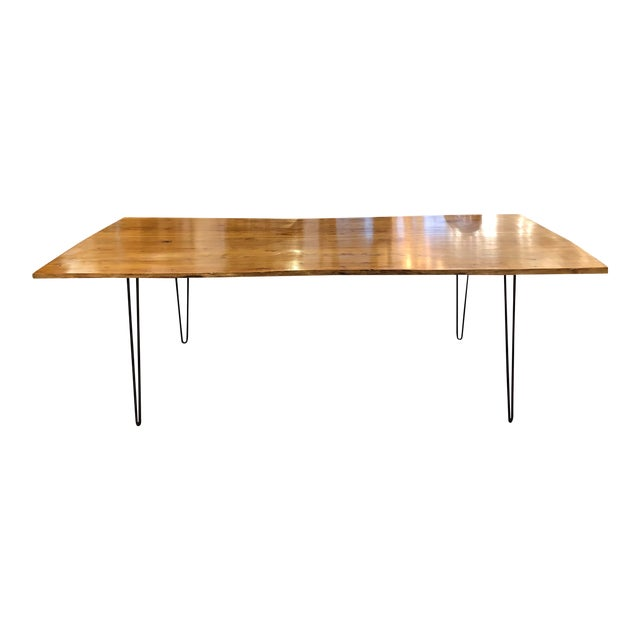 Custom Live Edge Wood Table For Sale