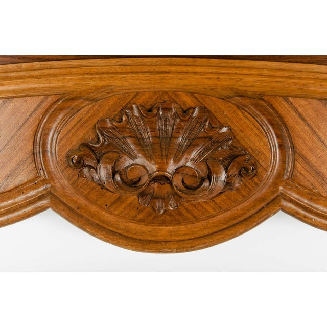 Late 19th Century French Burl Walnut Bed For Sale - Image 9 of 13