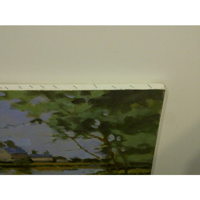 """The Farm"" Original Painting by Frederick McDuff For Sale In Pittsburgh - Image 6 of 7"