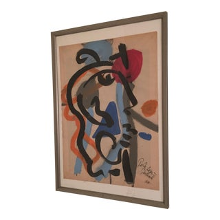 1967 Peter Keil Abstract Painting