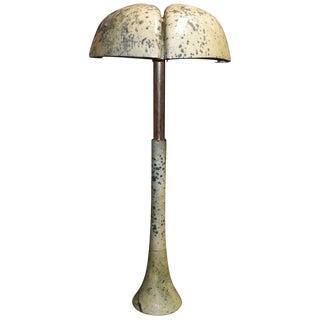 """Parchment """"Tree"""" Design Floor Lamp For Sale"""