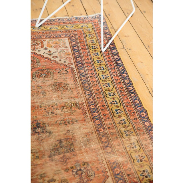 """Antique Qashqai Rug - 4'11"""" X 6'4"""" For Sale In New York - Image 6 of 13"""