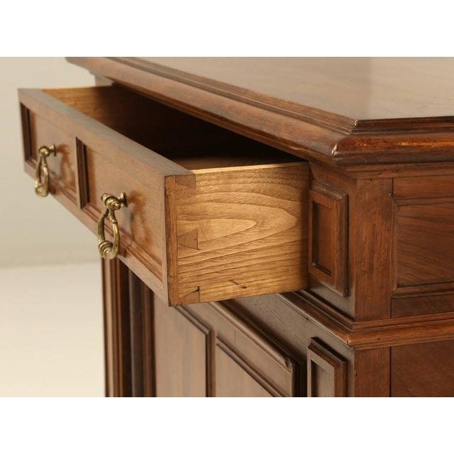 French Walnut Buffet For Sale - Image 4 of 10