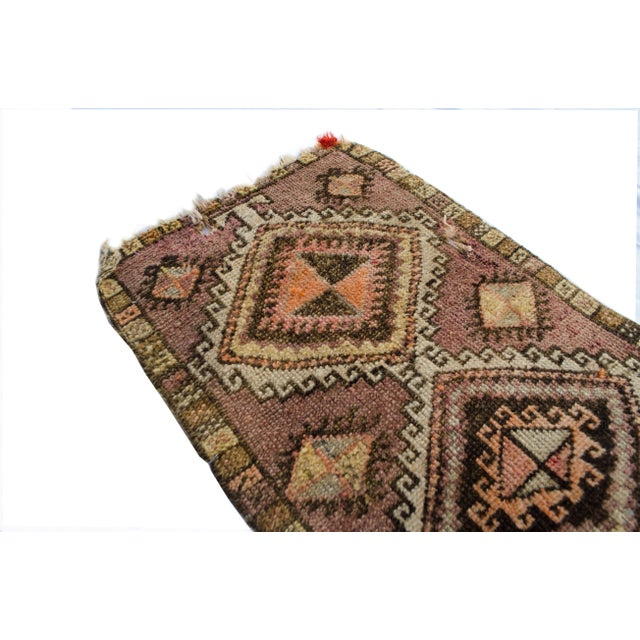 "Antique Turkish Oushak Mat - 1'5""x2'11"" - Image 3 of 6"