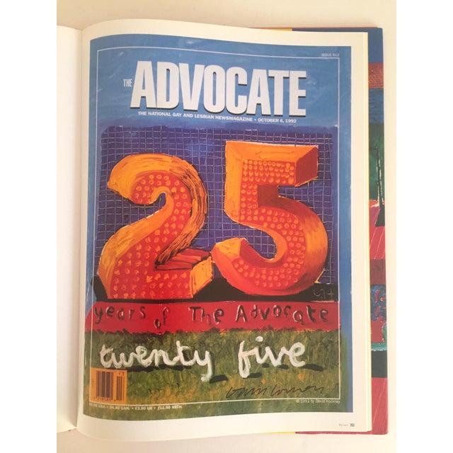 """David Hockney Poster Art"" 1st Edition Vintage 1995 Collector's Art Book - Image 10 of 11"