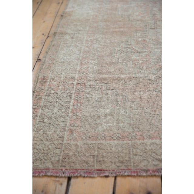 """Mid 20th Century Distressed Oushak Rug - 3'7"""" X 6'3"""" For Sale - Image 5 of 11"""