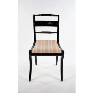 Early American Hitchcock Style Dining Chairs - Set of 6 Preview