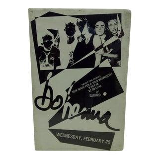Circa 1980 Yo Mama Concert Poster For Sale