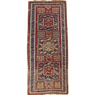 Antique Caucasian Soumak Rug For Sale