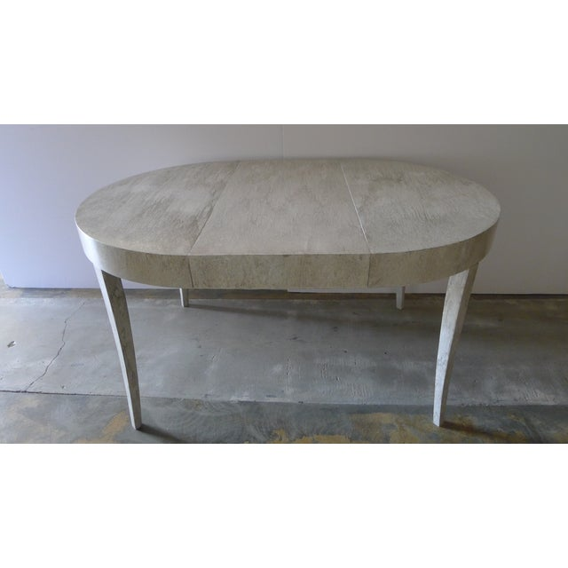 Restored Game or Dining Table in Drip-Glaze Finish - Image 11 of 11