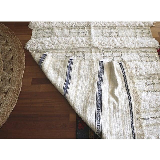 Vintage Moroccan Wedding Blanket - Image 5 of 5