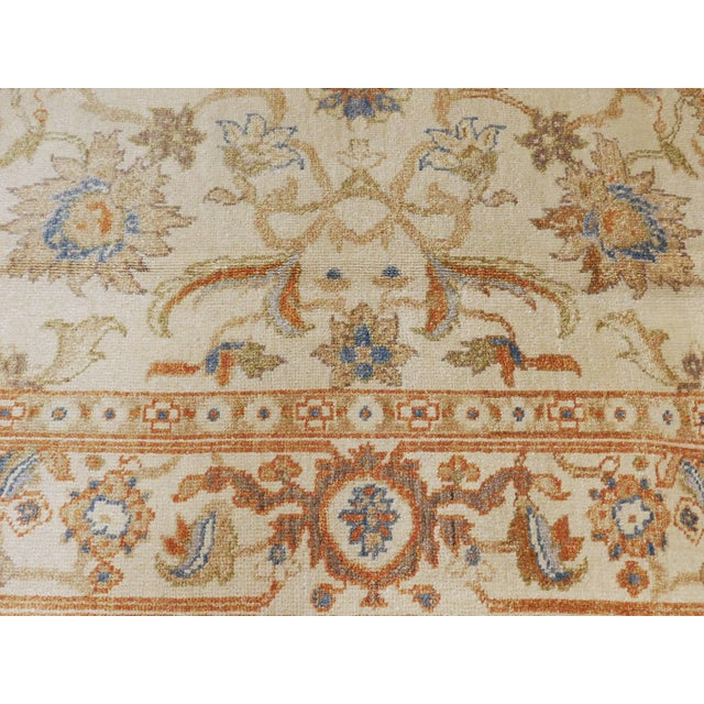 Textile Hand Knotted Chinese Ziegler Rug - 4′ × 6′ For Sale - Image 7 of 10