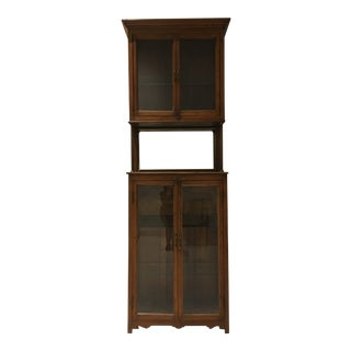 Antique Pharmacy Cabinet From India For Sale