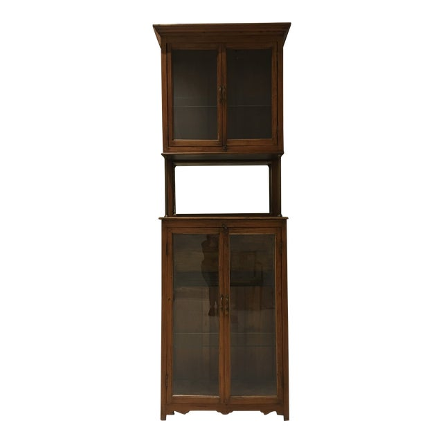 Antique Pharmacy Cabinet From India For Sale - Antique Pharmacy Cabinet From India Chairish