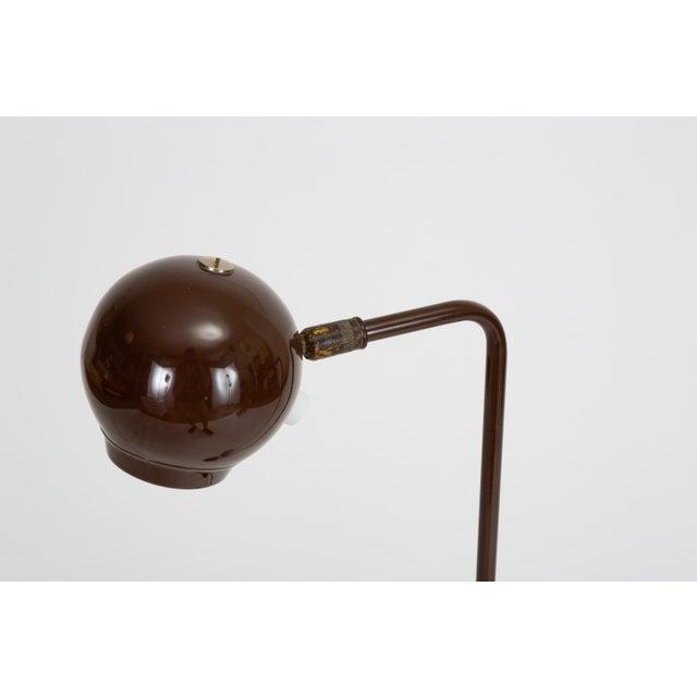1970s Single Eyeball Floor Lamp by Robert Sonneman for George Kovacs For Sale - Image 5 of 10