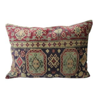 Vintage Turkish Decorative Large Pillow Cover - 28ʺW × 20ʺH For Sale