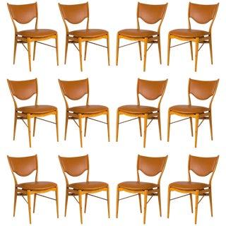 Set of 12 Finn Juhl BO-63 Dining Chairs For Sale