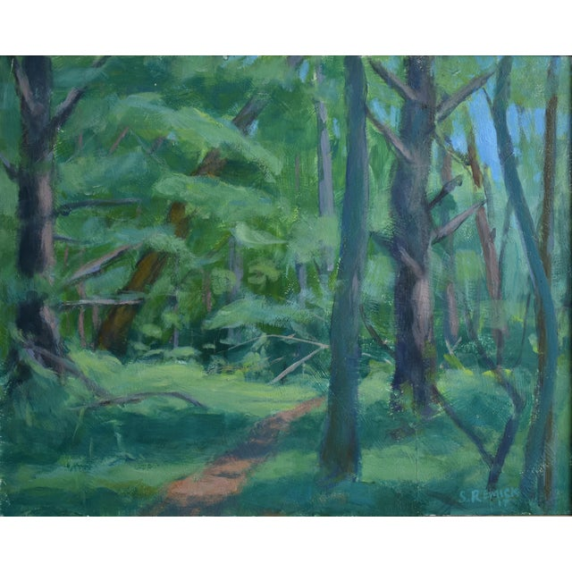 """Path on a Summer Day"" Landscape Painting - Image 2 of 5"