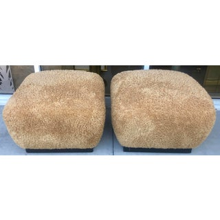 Pair Marge Carson Large Ottomans Preview