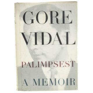1995 Signed Hardcover Copy of Gore Vidal's Memoir Palimpsest
