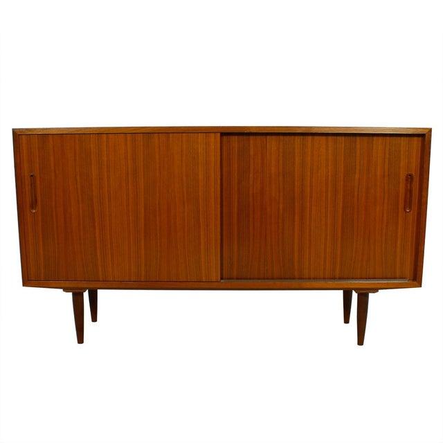Danish Modern Walnut Sideboard/Media Cabinet - Image 1 of 10