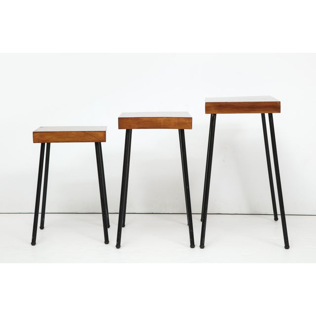 Raymor 1960s David Wurster for Raymor Nest of Tables - Set of 3 For Sale - Image 4 of 12