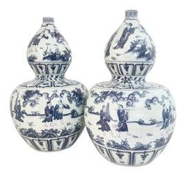 Image of Wood Vases