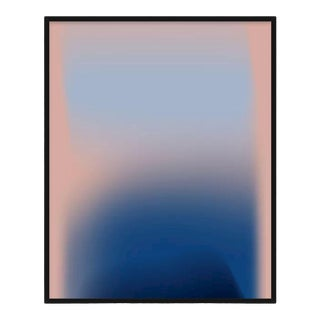 Abstract Print, The River of Swirling Eddies, Black Frame For Sale