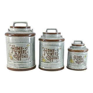 Milk Can Jars - Set of 3 For Sale