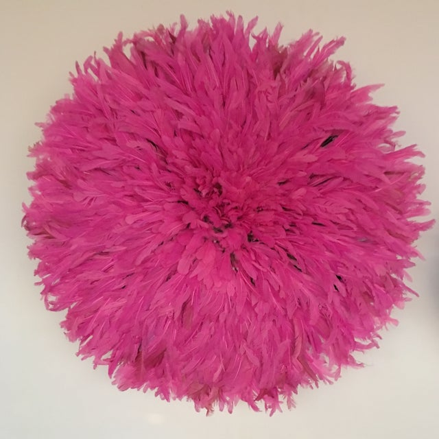 Cameroon Hot Pink Juju Hat - Image 2 of 3