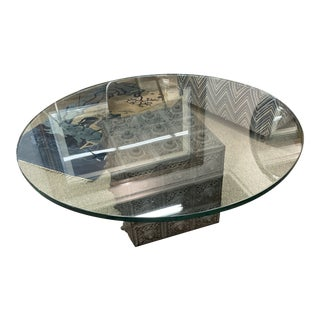 Vintage Moroccan Coffee Table For Sale