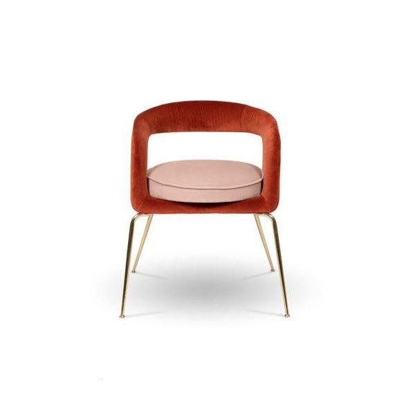 Metal Covet Paris Ellen Dining Chair For Sale - Image 7 of 7